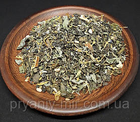 Чай зелений з мелісою