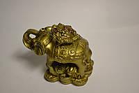 Лягушка на слоне  - слон к удаче жаба к деньгам