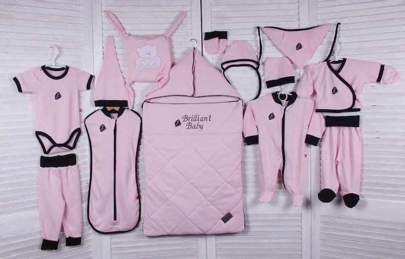 Демисезонный набор для новорожденного Baby Box (розовый)