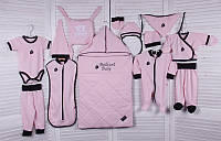 Демисезонный набор для новорожденного Baby Box (розовый), фото 1
