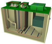 Локальные очистные сооружения BioBoxPro-6 (6 м3/сутки)