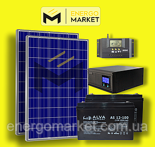 Автономная солнечная станция 560 Вт