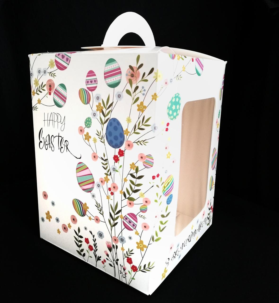 Упаковка для паски з віконцем