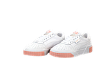 Женские кроссовки Puma Cali (Пума Кали) белые с розовым, фото 2