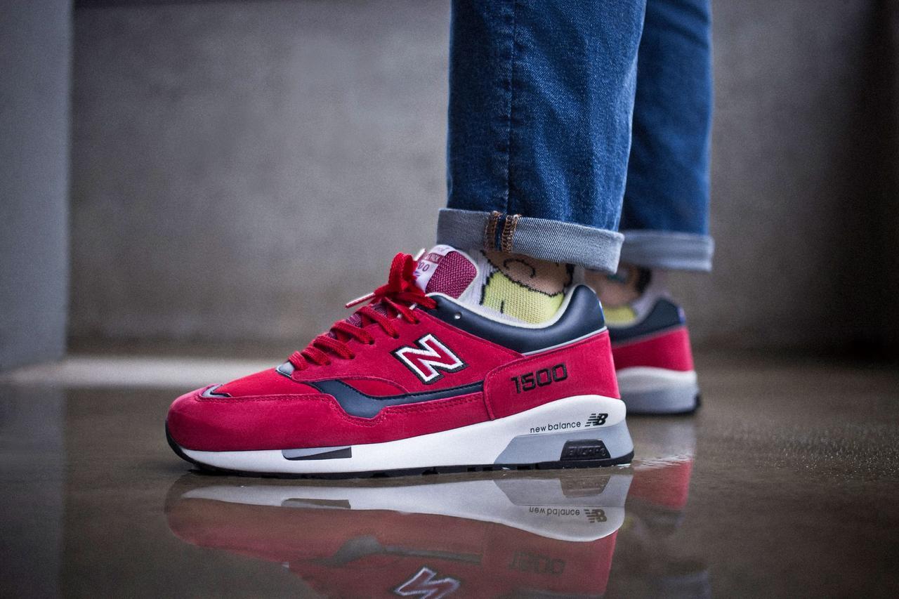 Чоловічі кросівки New Balance 1500 Bordo ( Репліка )