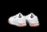 Женские кроссовки Puma Cali (Пума Кали) белые с розовым, фото 3
