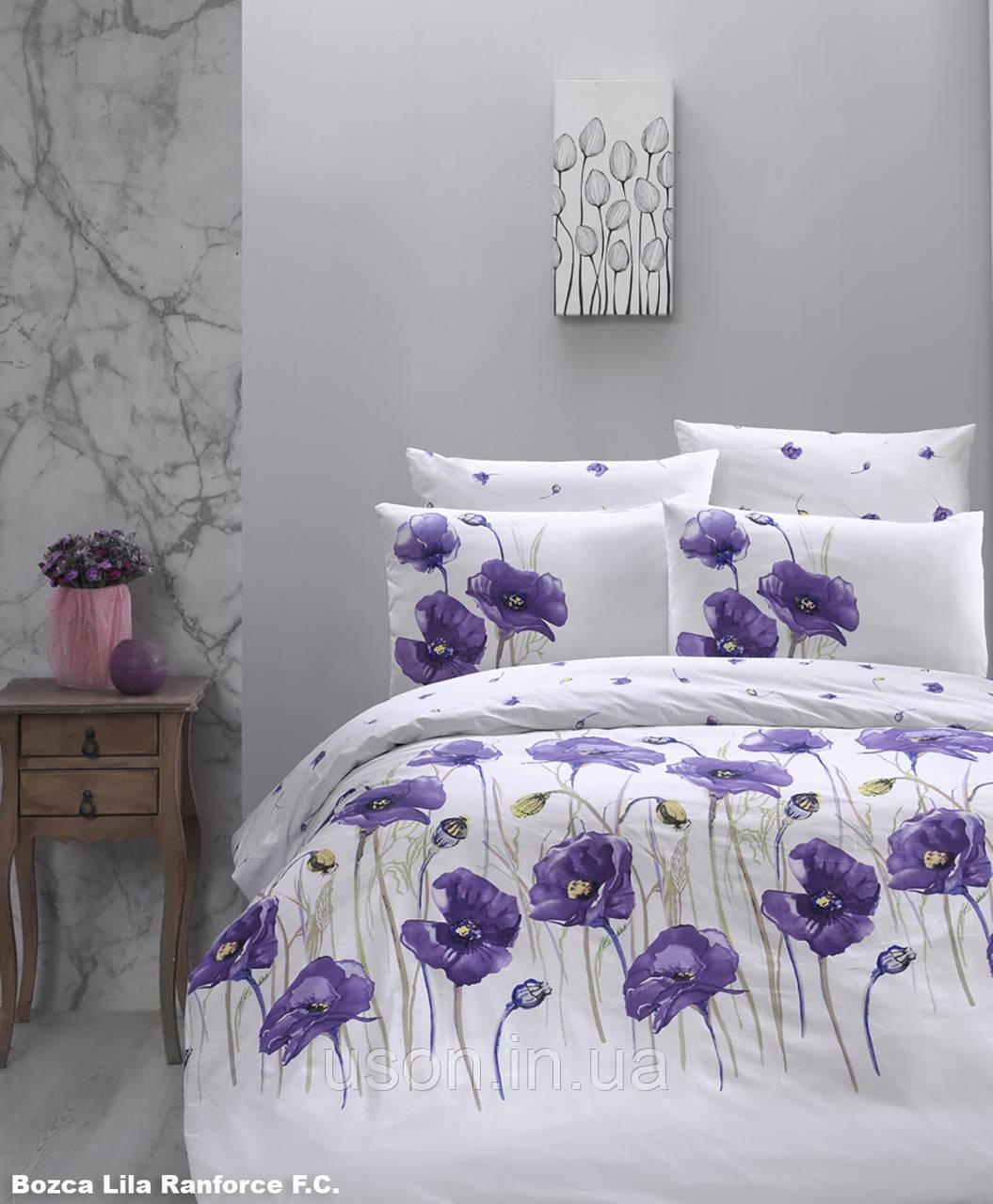 Комплект постельного белья TM First Choice ранфорс Bozca Lila