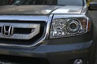 """Honda Pilot - установка биксеноновых линз Moonlight SUPER G5 2,5"""""""