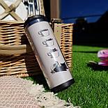 Термокружка ZIZ Котик в чашке, фото 3