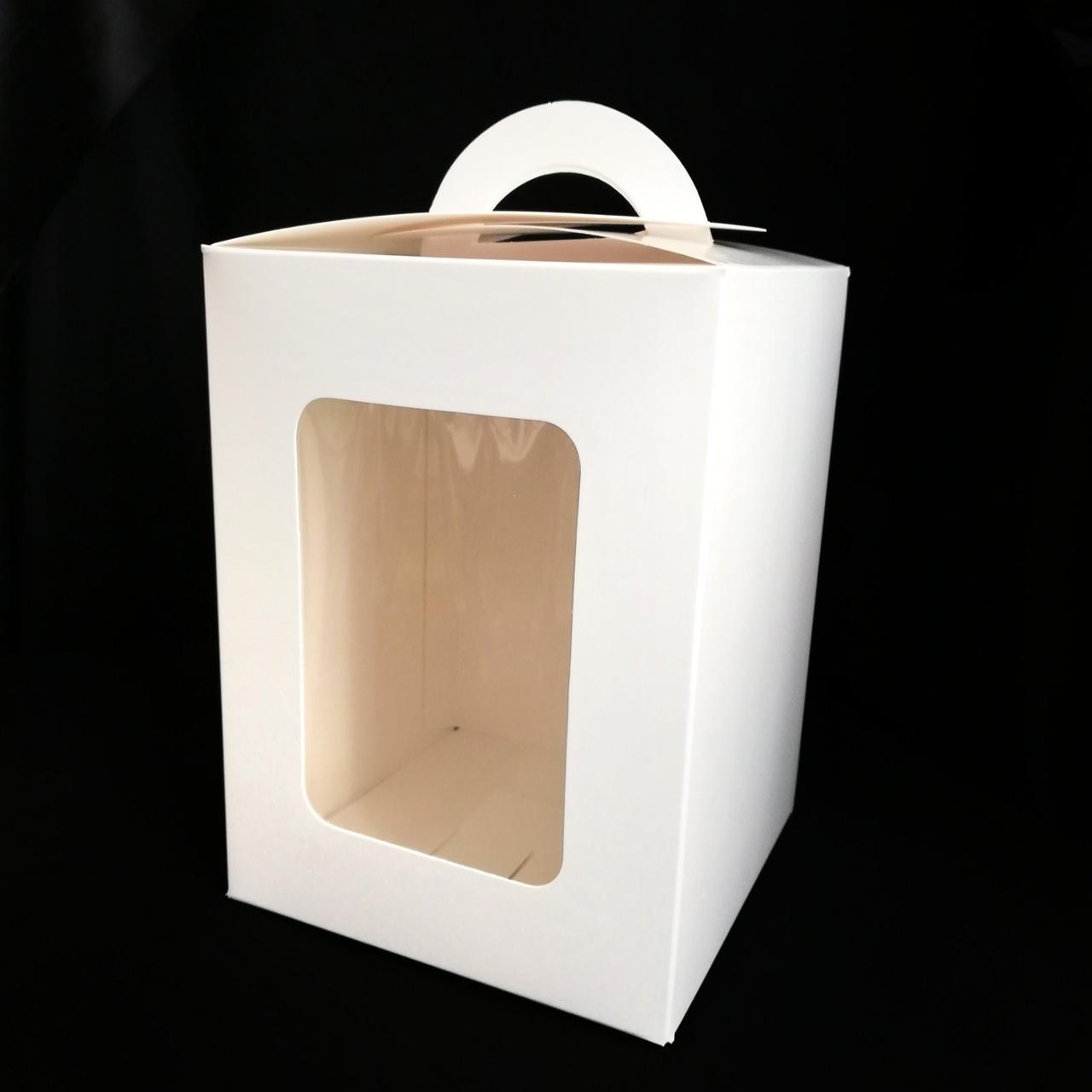 Упаковка для пасхального кулича с окошком