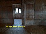 Дачный каркасный дом 6 на 8 - комбинированный., фото 5