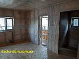 Дачный каркасный дом 6 на 8 - комбинированный., фото 6