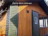 Дачный каркасный дом 6 на 8 - комбинированный., фото 9