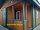 Дачный каркасный дом 6 на 8 - комбинированный., фото 8