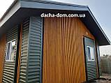 Дачный каркасный дом 6 на 8 - комбинированный., фото 4