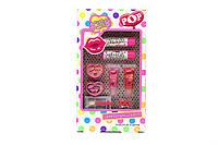 Набор детской косметики блесков для губ и аксессуары для девочки