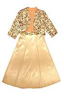 Комплект для девочки М-778 платье с болеро 152 164 и 170, фото 1