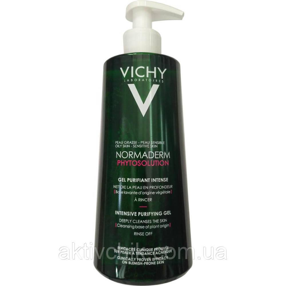 Глубоко очищающий гель Виши для умывания Vichy Normaderm Deep Cleansing Purifying Gel 400мл