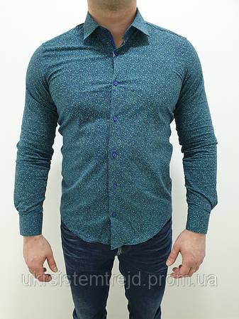 Рубашка мужская  Passero с узором