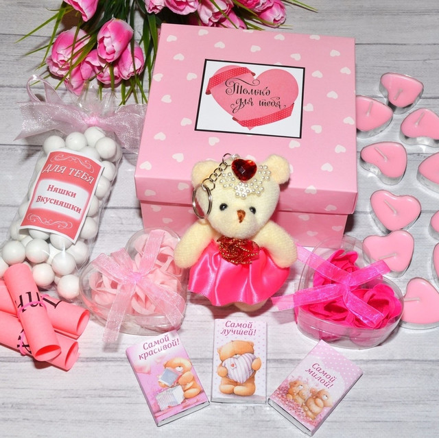 Романтичні подарункові набори