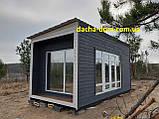 Дачный деревянный садовый домик 6*3, фото 2
