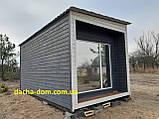 Дачный деревянный садовый домик 6*3, фото 3