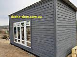 Дачный деревянный садовый домик 6*3, фото 4