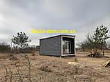 Дачный деревянный садовый домик 6*3, фото 5