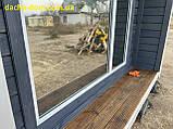Дачный деревянный садовый домик 6*3, фото 6