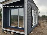 Дачный деревянный садовый домик 6*3, фото 7