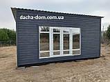 Дачный деревянный садовый домик 6*3, фото 8