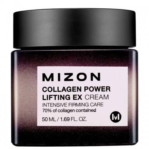 Коллагеновый лифтинг-крем для разглаживания морщин Mizon Collagen Power Lifting EX Cream