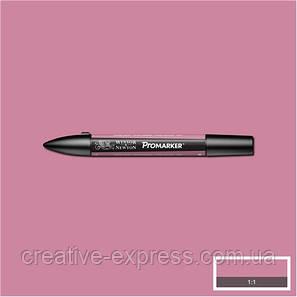 Двухсторонній Маркер, Promarker, Темно-рожевий (R327), W&N, фото 2