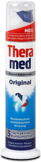 Зубная паста с дозатором, комплексный уход 100 мл Theramed Original