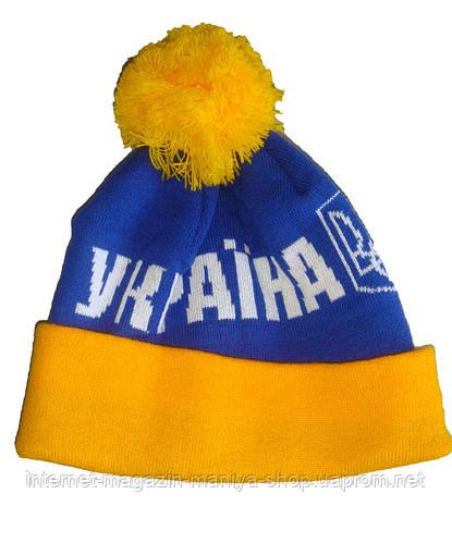 Мужская шапка Украина
