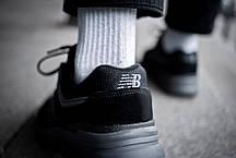 Мужские кроссовки  New Balance 997 Triple Black ( Реплика ), фото 2