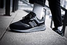 Мужские кроссовки  New Balance 997 Triple Black ( Реплика ), фото 3