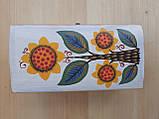 Деревяна шкатулка для прикрас ручної роботи, фото 8