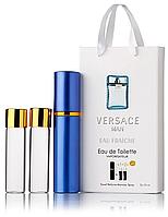 Мини-парфюм Versace Man Eau Fraiche, мужской 3х15 мл
