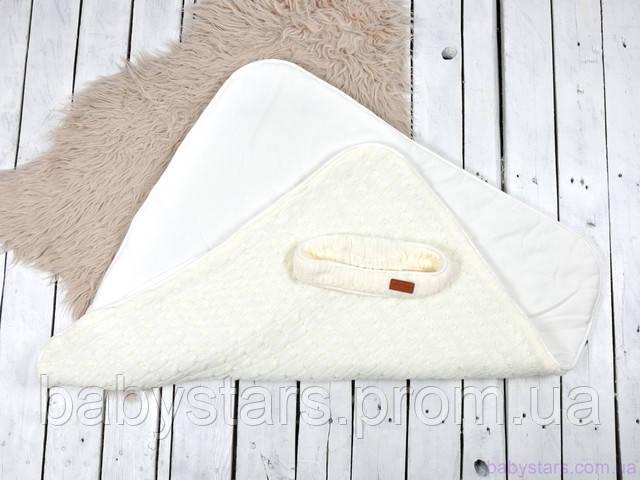 Вязанный конверт одеяло