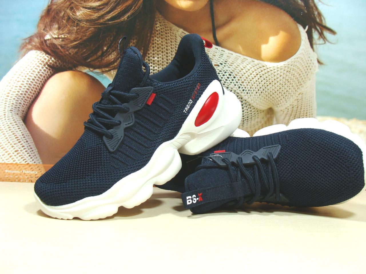 Женские кроссовки BaaS Trend System - 2 синие 38 р.