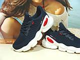 Женские кроссовки BaaS Trend System - 2 синие 38 р., фото 3
