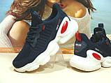 Женские кроссовки BaaS Trend System - 2 синие 38 р., фото 6