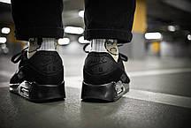 Мужские кроссовки Nike Air Max 90 Triple Black ( Реплика ) Остался 45, фото 3