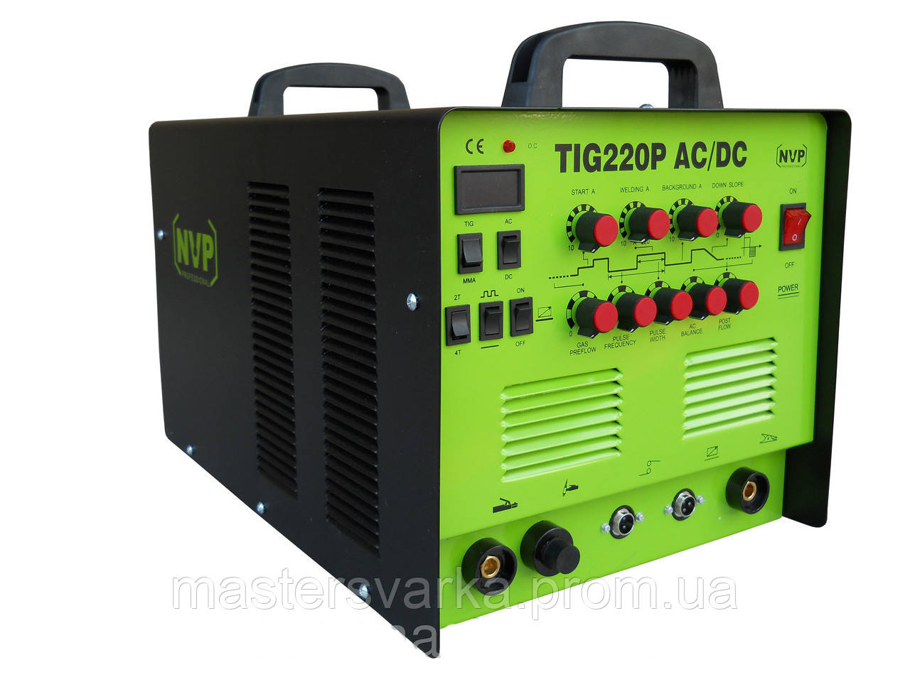 Аргонодуговой сварочный аппарат NVP TIG 220 ACDC