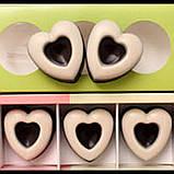 Силиконовая форма  Сердечки 10 шт, фото 8