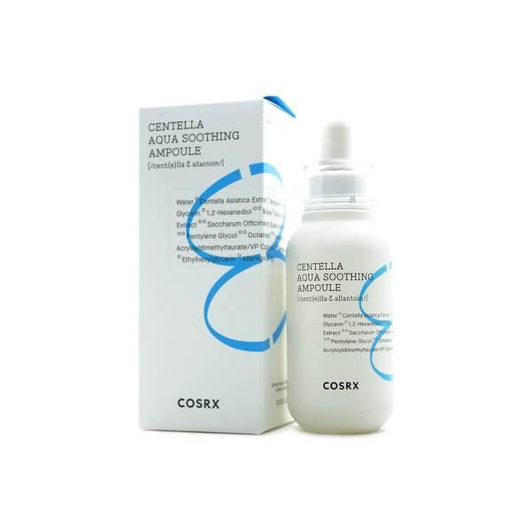 Успокаивающая сыворотка с экстрактом центеллы COSRX Hydrium Centella Aqua Soothing Ampoule, 40 мл