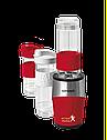Блендер Concept SM-3386 с удобными бутылочками шейк, коктейль, смузи red, фото 9