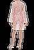 Кружевная туника Suavite 136243 в пудровом цвете, фото 4