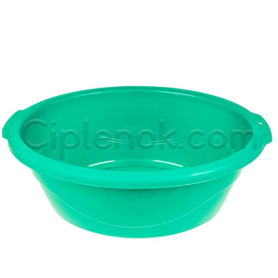 Таз овальный пищевой на 25 л (зеленый)
